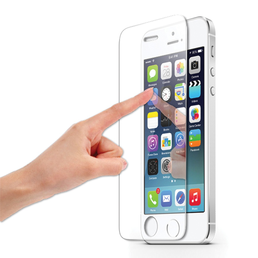 film protege ecran en verre tremp pour iphone 5 5c 5s ebay. Black Bedroom Furniture Sets. Home Design Ideas