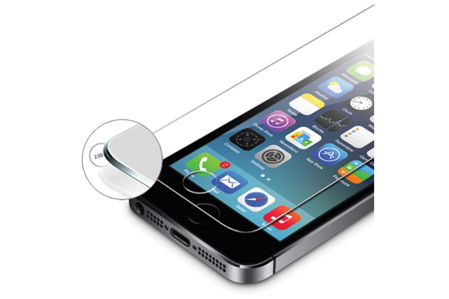 Protection cran iphone 4 4s verre tremp - Ecran verre trempe ...