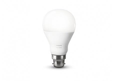 Philips Hue Ampoule connectée White B22 - Fonctionne avec Alexa