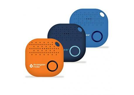 musegear® app Key Finder -Version 2 localisateur et traqueur sonore pour retrouver clés -Volume 3 Fois élevé –Couleur Ble