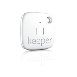 Gigaset Keeper Solo  Porte-clés connecté  avec Alertes sonores/lumineuses Bluetooth 4.0 Blanc