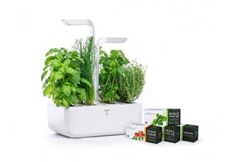 Potager Véritable® CLASSIC - Jardin autonome dintérieur Made in France  Blanc