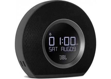 JBL - Horizon Radio - Réveil Bluetooth avec Ports USB de Recharge et Lumière Ambiante - Noir