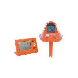 Jilong WiFi Thermomètre de Piscine + récepteur Externe Thermomètre sans Fil pour Piscine, Affichage de la température de l'Ea