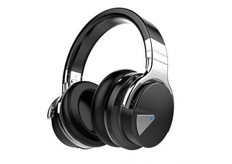 cowin E7 Casque Audio à Réduction Active de Bruit Over-Ear Bluetooth 4.0 Stéréo Écouteurs sans Fil avec Microphone NFC, Léger
