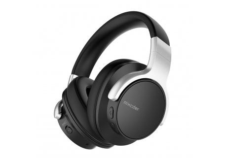 Mixcder E7 Casque Bluetooth à Réduction Active de Bruit Over-Ear Audio Stéréo Écouteurs Circum Auriculaire ANC sans Fil avec