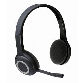 Logitech Wireless Headset H600 Micro-casque sans-fil à filtrage de bruit Noir pour PC et MAC