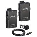 BOYA Sans Fil Micro-cravate système pour Canon Nikon Sony Panasonic DSLR Caméscope Appareil Photo iphone android smartphone
