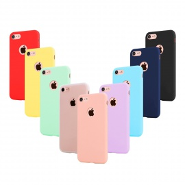 Leathlux 9 × Coque iphone 6 / 6S Étui Silicone, Ultra Mince Souple TPU Housse Protection Doux Gel Skin Coque pour iphone 6S /