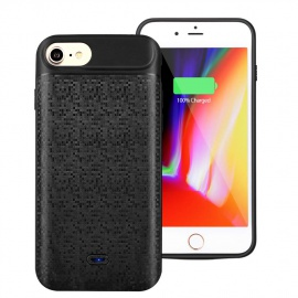 Mbuynow Coque Batterie iPhone 6-6S-7-8 Batterie de Secours Chargeur Portable Batterie Externe Chargeur de Protection Power Ba