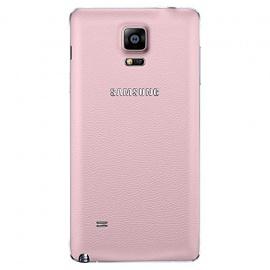 Samsung Look&Feel Coque batterie pour Samsung Galaxy Note 4 Büten Pink