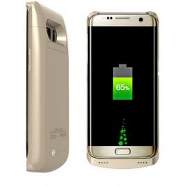 REDGO 5200mAh Coque de Batterie de Samsung Galaxy S7 Edge, Batterie Externe Portable Alimentation de Secours Housse de Protec