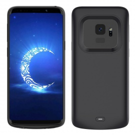 Samsung Galaxy S9 Coque Batterie, 4700mAh Rechargeable Li-polymère Coques dalimentation Batterie Pack Power Band Backup Exte