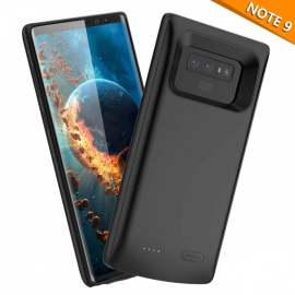 FugouSell Coque Batterie Galaxy Note 9, 5000mAh Rechargeable Coque avec Batterie, Externe Chargeur Portable Power Bank Juice