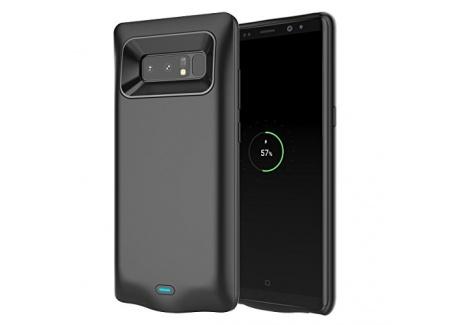 FugouSell Coque Batterie Galaxy Note 9, 5000mAh Rechargeable Coque avec Batterie, Externe Chargeur Portable Power Bank Juice