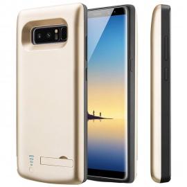 Coque Batterie pour Galaxy Note 8,PEMOTech 6500mAh Grande capacité sans menton supplémentaire Coque Batterie pour Samsung Gal