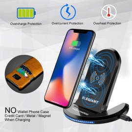 Chargeur sans Fil à Induction Pliable pour IPhone 8 /8 plus