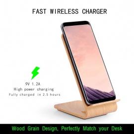 Chargeur Rapide sans Fil pour Samsung Galaxy S9 / S9 Plus / Note 8 / S8 / S8 Pl