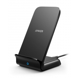 Anker PowerWave 7.5 Stand - Chargeur sans Fil Qi 10W Compatible Standard iPhone 7.5W et Fast Charge Samsung - Chargeur Wirele