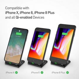 Chargeur Sans Fil Rapide à Induction pour Samsung Galaxy Note 8/ S8/ S8 plus/