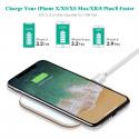 Chargeur sans fil à Induction iPhone X 8 Plus 8 [USB C] 7.5W