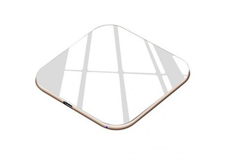 Chargeur sans fil Te-Rich 15W Chargeur à Induction [USB C] 7.5W Station de Charge sans fil Qi pour iPhone X 8 Plus 8, 10W Cha