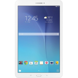 "Samsung T560 Galaxy Tab E Tablette tactile 9,6"" 24,38 cm   8 Go, Android KitKat 4.4, 1 Port USB 2.0, 1 Prise Jack, Blanc [Imp"