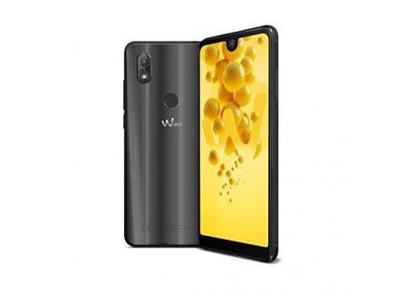 Wiko View2 Smartphone portable débloqué 4G  Ecran: 6 pouces - 32 Go - Double nano-SIM - Android  Anthracite