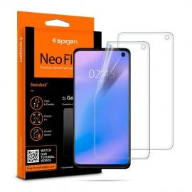 Protection écran Samsung Galaxy S10, Pack de 2 Compatible avec capteur à Ultrason