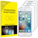 Film de Protection écran pour iPhone 6, iPhone 6s, iPhone 7, iPhone 8 en Verre Trempé, Lot de 3