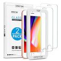 Verre Trempé iPhone 7/iPhone 8 Protection Ecran, 3 pièces [9H Dureté] [Ultra Clair] Protecteur Décran pour iPho