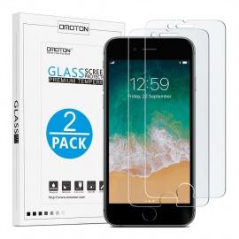 Verre Trempé iPhone 7 Plus/8 Plus Protection Ecran [9H, Sans Bulles, Anti-Rayures] Film Protecteur Pour iPhone 7 Plus/