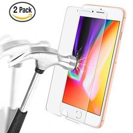 Protection écran iPhone 8 / iPhone 7, Ultra Résistant Film Protection en Verre Trempé écran Protecteur Vitre pour
