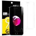 Verre Trempé pour iPhone 7,iPhone 8,[Pack de 2] Film Protection écran - Anti Rayures - sans Bulles dair -Ultra Résista