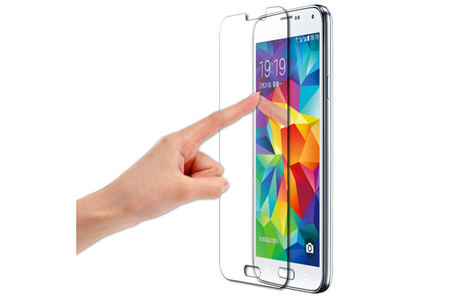 Protection cran samsung galaxy s5 verre tremp - Ecran verre trempe ...