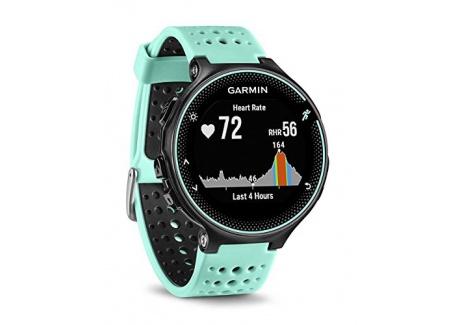 Garmin - Forerunner 235 - Montre de Running GPS avec Cardio au Poignet  Ecran : 1,23 pouces  - Noir/Rouge