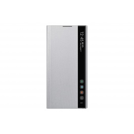 Coque Samsung Clear View Cover Silver Galaxy Note 10+