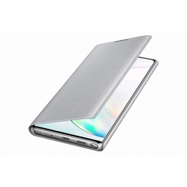 Coque Samsung LED View Cover Silver Galaxy Note 10+