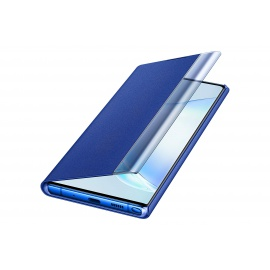 Coque Samsung Clear View Cover Bleu Galaxy Note 10+