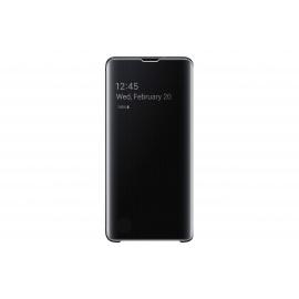 Coque Samsung Clear View Cover Noir Galaxy S 10