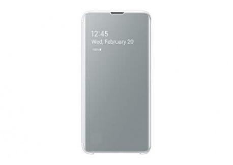Samsung Clear View Cover Noir Galaxy S 10