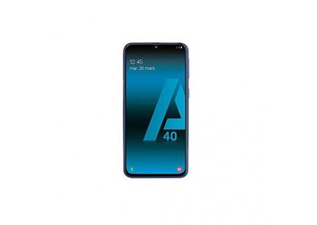 SAMSUNG Galaxy A40 - Smartphone Portable débloqué 4G  Ecran: 5, 9 Pouces - 64 Go - Double Nano-SIM - Android  - Noir - Versio
