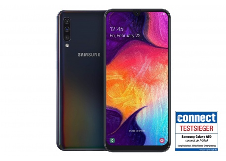Samsung A505F Galaxy A50 128 GB  Black  débloqué Logiciel Original