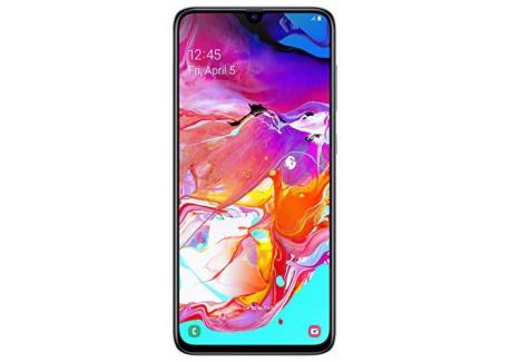 Samsung Galaxy A70 - Smartphone 4G  6,7 - 128GO - 6 GO RAM  -  Noir - Version Française
