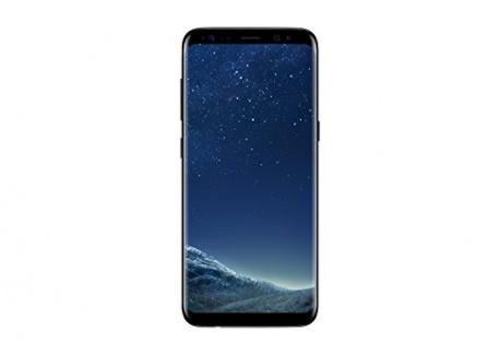 Samsung Galaxy S8 Smartphone débloqué 4G  Ecran : 5,8 Pouces - 64 Go - 4 Go RAM - Simple Nano-SIM - Android Nougat 7.0  Noir