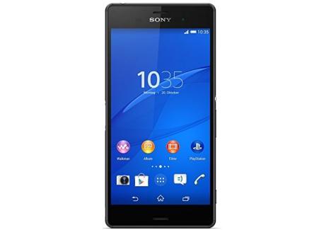 Sony Mobile Z3 Smartphone débloqué 5.2 Pouces 16 Go Android Noir  Import Allemagne