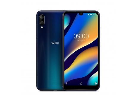 Wiko View3 Lite Smartphone débloqué 4G  Ecran 6, 09 Pouces - 32 Go - Double Nano-SIM + Micro SD - Android 9 Pie  Night Blue