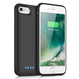 iPosible Coque Batterie pour iPhone 6/7/6s/8 6000mAh[2019 Version Durable] Coque Rechargeable pour iPhone 6/8/6S/7 Batterie E