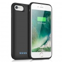 iPosible Coque Batterie pour iPhone 6/7/6s/8 6000mAh[2019 Version Durable] Coque Rechargeable pour iPhone 6/8/6S/7 Batterie E