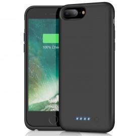 Feob Coque Batterie pour iPhone 6 Plus/6S Plus/7 Plus/8 Plus Coque Rechargeable 8500 mAh Batterie Externe Chargeur Portable P